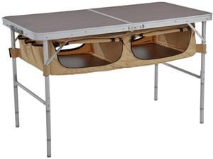 ストレージアウトドアテーブル TB5-110T [ブラウン/ベージュ・・・