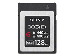 SONY XQDメモリーカード「Gシリーズ」 QD-G128E [128GB]