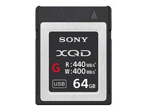 SONY XQDメモリーカード「Gシリーズ」 QD-G64E [64GB]