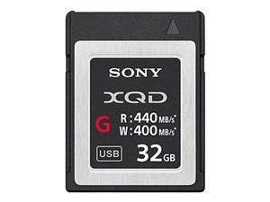 SONY XQDメモリーカード「Gシリーズ」 QD-G32E [32GB]