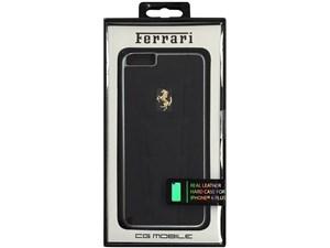 Ferrari フェラーリ 【iPhone 6 Plus】458 - Black Leather Hard Case ブラッ・・・