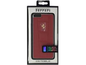 Ferrari フェラーリ 【iPhone 6 Plus】458 - Red Leather Hard Case レッド F・・・