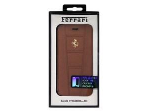 Ferrari フェラーリ 【iPhone 6】458 -Camel Leather Booktype Case FE458GFL・・・