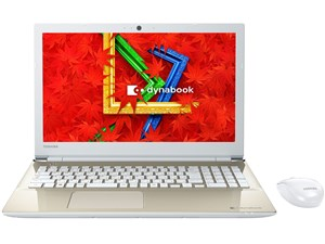 dynabook T55 T55/AG PT55AGP-BJA2 [サテンゴールド] 商品画像1:セブンスター貿易