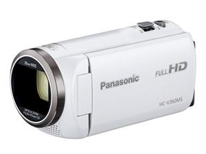 【送料無料】デジタルハイビジョンビデオカメラ HC-V360MS ホワイ・・・
