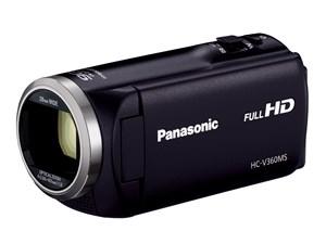 デジタルハイビジョンビデオカメラ HC-V360MS ブラック