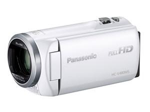 パナソニック デジタルハイビジョンビデオカメラ HC-V480MS-W [ホワイト・・・