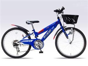 マイパラス M-822Z-BL ブルー [子ども用マウンテンバイク (22インチ/6段変速/・・・