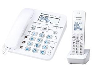 パナソニック コードレス電話機(子機1台付き)「RU・RU・RU」 VE-GD35DL-W ・・・