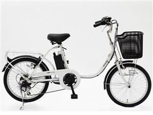 電動アシスト自転車 BENERO20 6Ah ホワイト