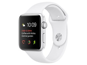 Apple Watch Series 2 42mm MNT22J/A [ホワイトスポーツバンド]