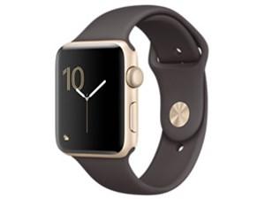 APPLE Apple Watch Series 2 42mm MNT72J/A [ココアスポーツバンド]・・・