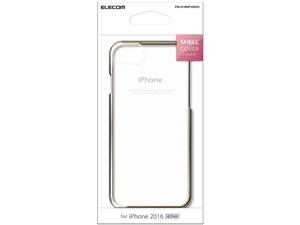 ELECOM PM-A16MPVMGD ゴールド [シェルカバー サイドメッキ (iPhone 7用)・・・
