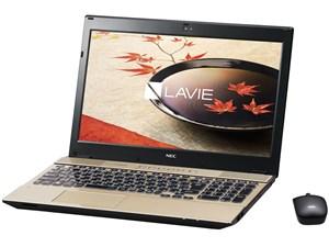 LAVIE Note Standard NS750/FAG PC-NS750FAG [クリスタルゴールド]