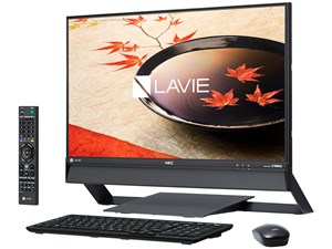 LAVIE Desk All-in-one DA770/FAB PC-DA770FAB [ファインブラック]