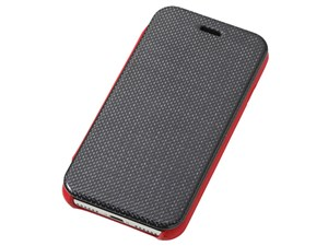 Deff RONDA Carbon & Spanish Leather Case for iPhone 7 Red DCS-IP7RAFCLR・・・