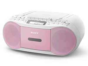 SONY CFD-S70-PC ピンク [CDラジカセ]