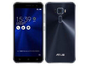 ZenFone 3 ZE520KL-BK32S3 SIMフリー [サファイアブラック] 商品画像1:ハルシステム