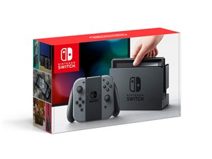 Nintendo Switch [グレー] ;;JAN 4902370535709