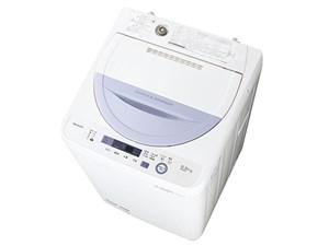 シャープ 全自動洗濯機 ES-GE5A-V (バイオレット系)