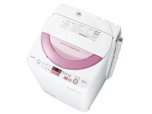 シャープ 全自動洗濯機 ES-GE6A-P (ピンク系)