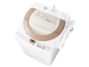 シャープ 全自動洗濯機 ES-GE7A-N (ゴールド系)