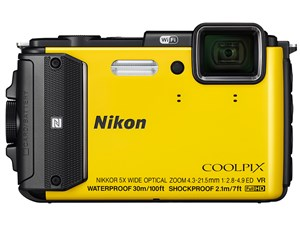 【8GB付き】COOLPIX AW130 [イエロー]