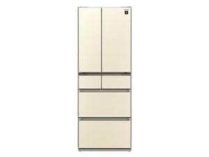 シャープ フレンチドアタイプ冷蔵庫 SJ-GS43C-N [シャンパンゴールド・・・