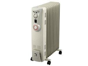 ユアサプライムス YOG-1200S ホワイト [オイルヒーター(6~8畳)・・・