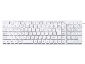 サンワサプライ USBスリムキーボード SKB-SL26W