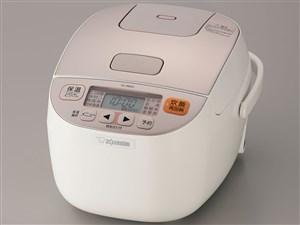 象印 NL-BB05-WM シャンパンホワイト 極め炊き [マイコン炊飯器(3合炊き)・・・