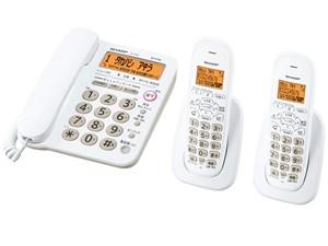 [シャープ] デジタルコードレス電話機(子機2台付き) [JD-G32CW-W(ホワイト)・・・