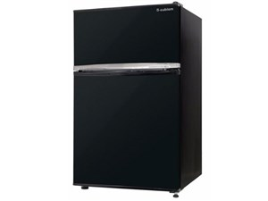 エスキュービズム 2ドア冷蔵庫90L WR-2090BK [ブラック]