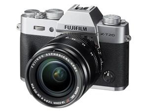 富士フイルム FUJIFILM X-T20 レンズキット [シルバー] JAN454741034355・・・