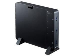 サンワサプライ ケーブル収納BOX付き7ポートUSB2.0ハブ USB-3H705B・・・
