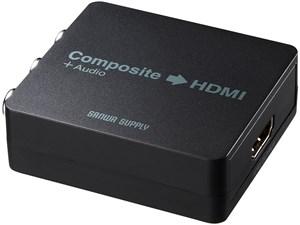 サンワサプライ コンポジット信号HDMI変換コンバータ VGA-CVHD・・・