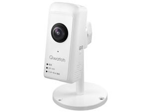 アイ・オー・データ機器 180°パノラマビュー対応ネットワークカメラ「Qwatch・・・