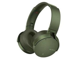 SONY 迫力の重低音をワイヤレスで楽しめるノイズキャンセリングヘッドホン ・・・