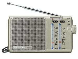 パナソニック AM/ワイドFMラジオに対応したラジカセ RF-U155-・・・