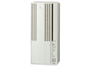 コロナ 窓用エアコン 冷房専用 おもに4.5~7畳用 換気機能付 シェルホワイト ・・・