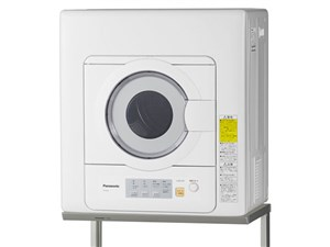 パナソニック 「ツイン2温風」を搭載した衣類乾燥機(5kg) NH-D503-W ホワ・・・
