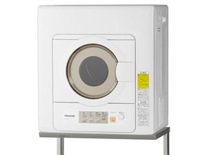 パナソニック 「ツイン2温風」を搭載した衣類乾燥機(6kg) NH-D603-W ホワ・・・