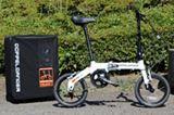 旅先で自転車に乗りたいならコレ! 気軽に輪行できる小径自転車「ハコベロ」