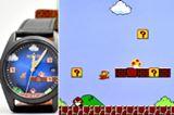 """ファミコンの画面と比較! スーパーマリオの""""1-1面""""を再現した腕時計「WIRED×スーパーマリオ限定モデル」"""