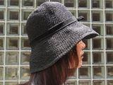 折りたためる帽子で、夏の強い日差しから、頭をがっちりガード!