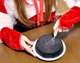 【リア充お断り】真っ黒なケーキをクリスマスに、いざ実食