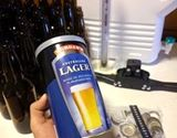 お父さん必見。自宅で簡単にビールが作れるキットを発見!
