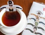 紅茶のお風呂でいい湯だな? おもしろティーバッグを発見!