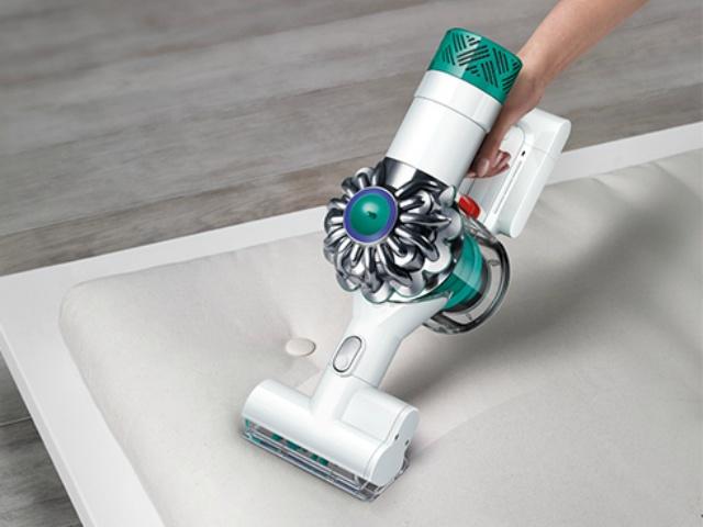 ミニ モーターヘッド : ベッドや布団の繊維に入り込んだダニアレルゲンを含むハウスダストを掻き取ります。