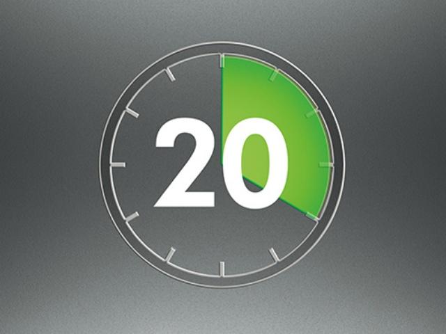 20分間高い吸引力が変わりません : ニッケルマンガンコバルトバッテリー。 安定したパワー供給により、変わらない吸引力が続きます。(モーター駆動のヘッド使用時は17分間)